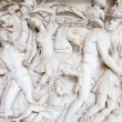 Greek bas-relief - Stock Photo