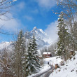 Winter in alps — Stock Photo #7337245