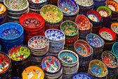 Turkish ceramics — Stock Photo