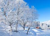 Vackra alpina landskap — Stockfoto