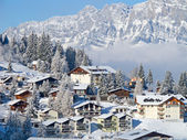 Winter in alps — Photo