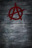 Simbolo di anarchia — Foto Stock