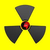 Radioactive Earth — Stock Photo