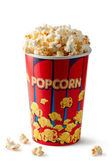 Full bucket of popcorn — Stock Photo