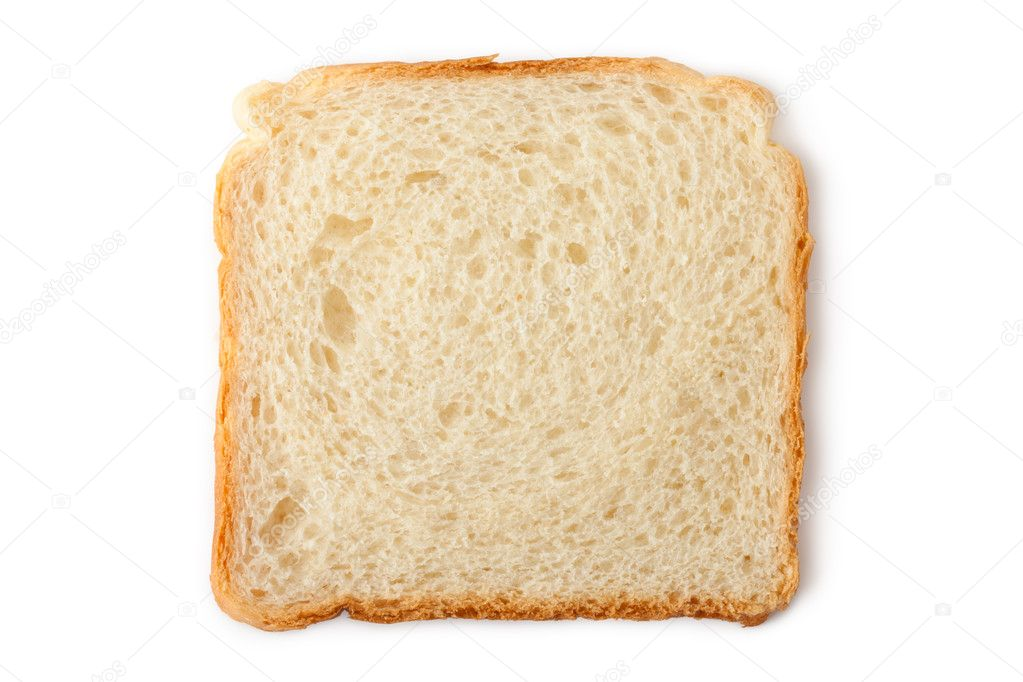 Slice of Bread Clipart Slice of Wheat Toast Bread