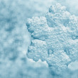 Snowflake big closeup — Stock Photo