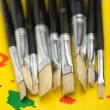 Art brushes close up — Stock Photo #6988312