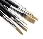 Art penslar på nära håll — Stockfoto