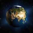 The planet earth — Stock Photo