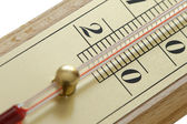 The room thermometer closeup — Stock Photo
