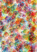 Background from colour circles — Stock Photo