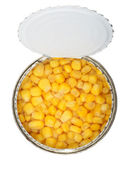 Cans of corn — Stock Photo