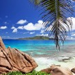 Marvellous beach - Seychelles - Stock Photo
