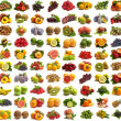Stock Photo: Collection fruits