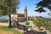 Old church in Diano D'Alba, Italy. — Stock Photo
