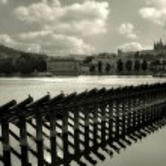 Prague cityscape. — Stock Photo