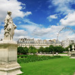 Sculptures in Tuileries Garden in Paris, France. — Stock Photo #7512737