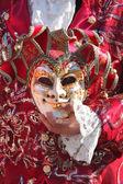 Традиционный венецианский карнавал 2011. — Стоковое фото