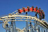 Roller coaster loop. — Stock Photo