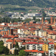 Aerial view on Alba. Piedmont, Italy. — Stock Photo