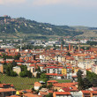 Aerial view on Alba. Piedmont, Italy. — Stock Photo #7570929