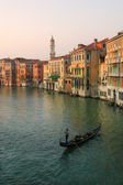 Grand Canal in Venice, Italy. — Stock Photo