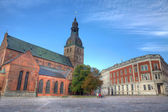 The Dom Cathedral in Riga, Latvia. — Stock Photo