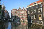 Amsterdam historic center. — Stock Photo