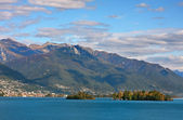 Lake Maggiore, Switzerland. — Stock Photo
