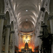 Catholic church interior. — Stockfoto #7782125
