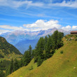 Stock Photo: View on Alps in northern Italy.