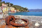 View on small town of Portofino, Italy. — Stock Photo