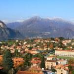 Small town among the mountains on Lake Como. — Stock Photo #7867393