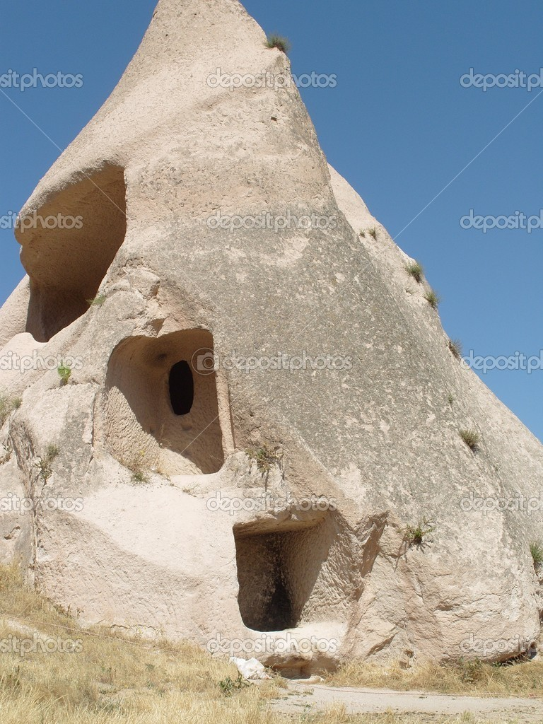 Cappadocia is a historical region in Central Anatolia, Turkey  Stock Photo #6854960