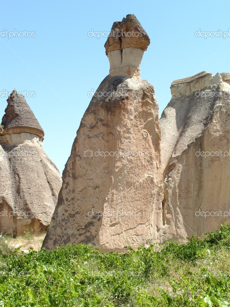 Cappadocia is a historical region in Central Anatolia, Turkey — Stock Photo #6861510