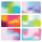 Set of Abstract backgrounds — Stock Vector