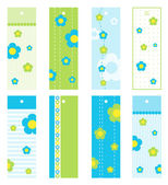 Set of gift tags — Stock vektor