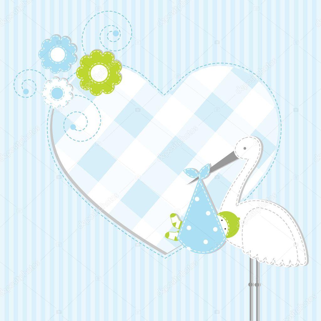 Картинки открытка для новорожденного