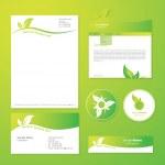 Eco templates — Stock Vector #7263447