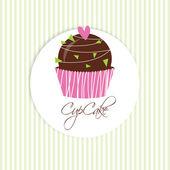 Cupcake — Stock Vector