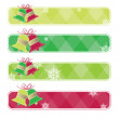 Royalty-Free Stock Vectorielle: Christmas banners