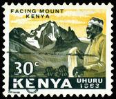 Vintage postage stamp. Jomo Kenyatta. — Stock Photo