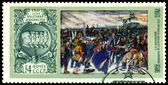 Vintage postage stamp. Decembrists. — Stock Photo