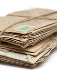 Batch of old letters — Stockfoto