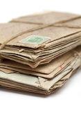 Stapel alter briefe — Stockfoto