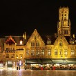 Royalty-Free Stock Photo: Bourg square at night, Bruges. Belgium