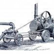 Agricultural implements - Stock Photo