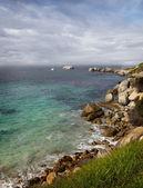 Güney cape kıyı şeridi. — Stok fotoğraf