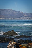 Cape Town View from Robben Island — Stock Photo