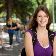 Foto Stock: College Girl Portrait